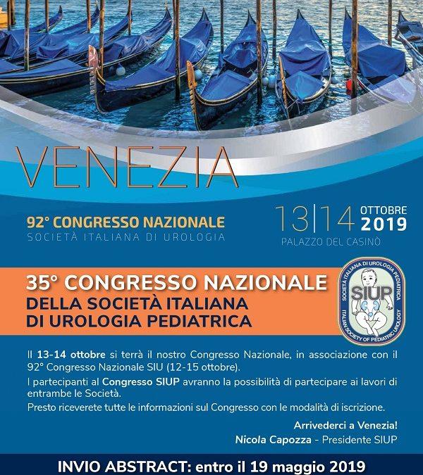 35° Congresso Nazionale SIUP