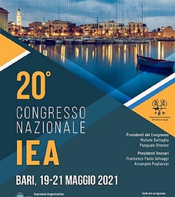 20° Congresso Nazionale IEA