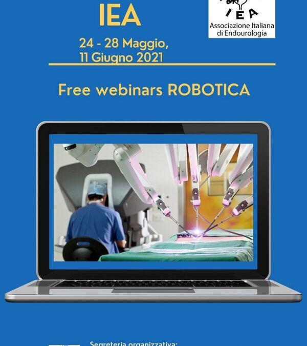 Webinars IEA Robotica